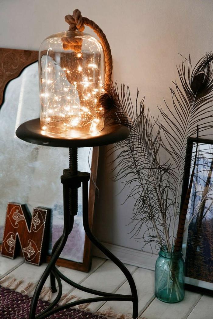 la guirlande lumineuse pour décorer