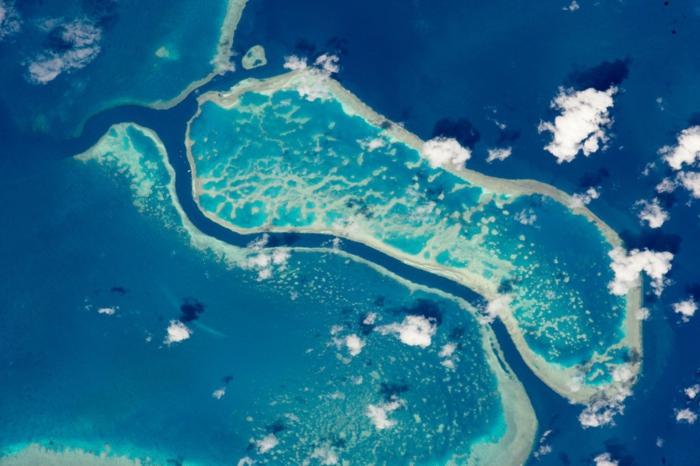 les plus beaux endroits du monde vue de l'espace