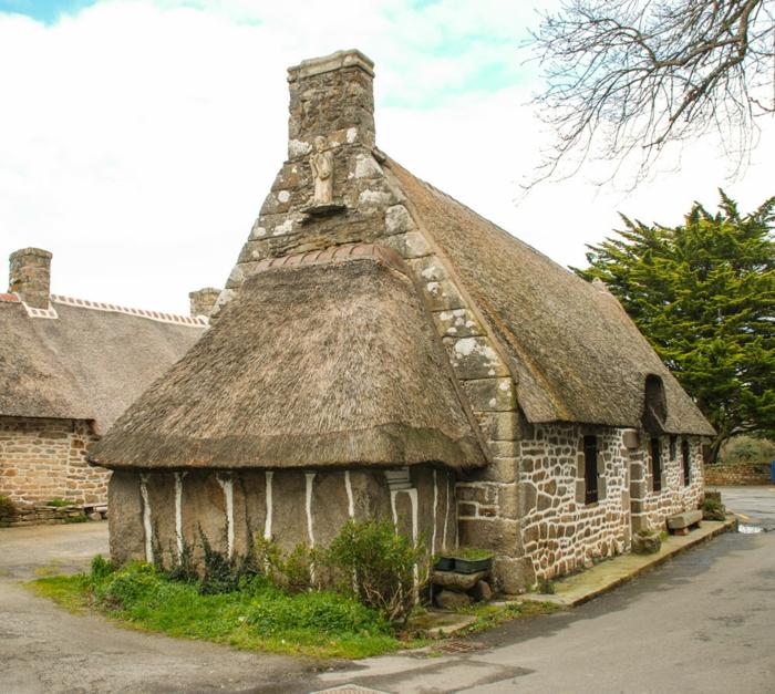 maison bretonne en pierre et granit