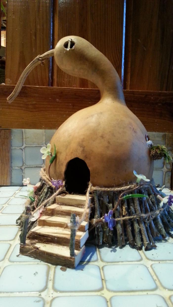 maison de fée calebasse