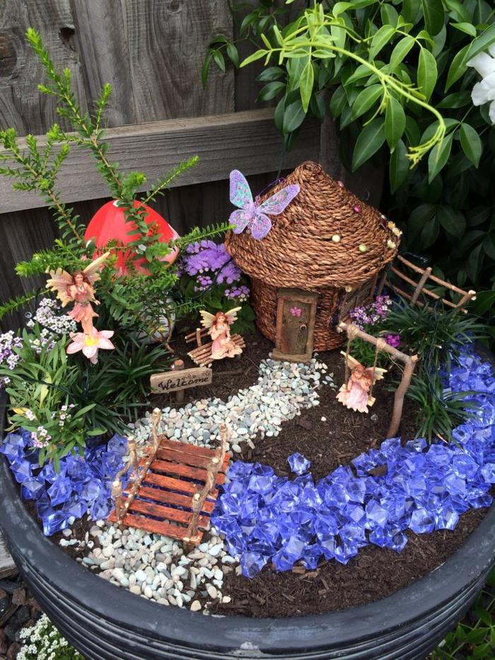 mini jardin pour une maison de fée