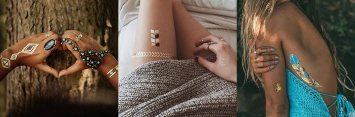 modèles tatouage éphémère pour être modernes