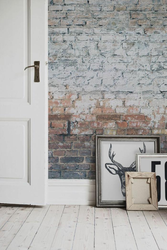 papier peint trompe l 39 oeil ou comment cr er l 39 effet d 39 illusion. Black Bedroom Furniture Sets. Home Design Ideas