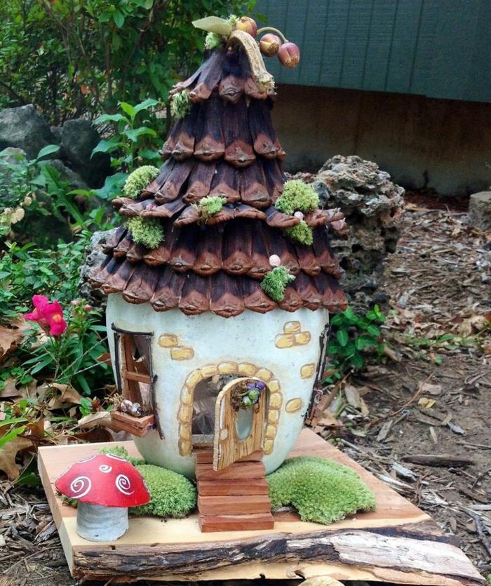pour le jardin une maison de fée