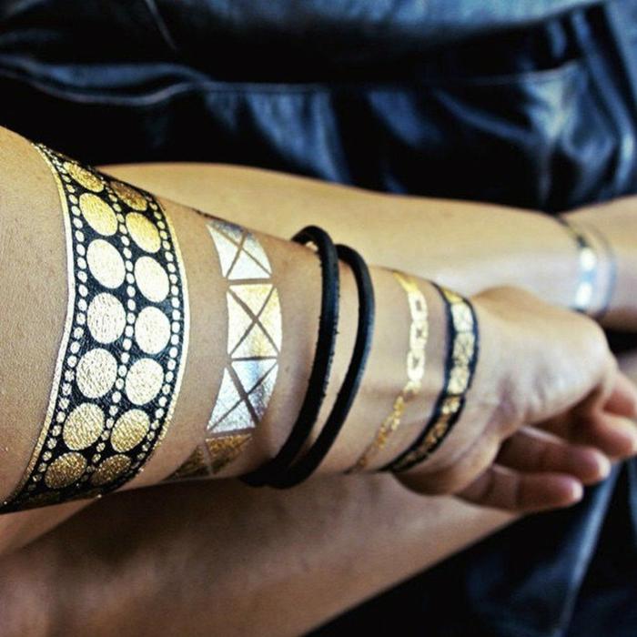 pour les mains tatouage éphémère