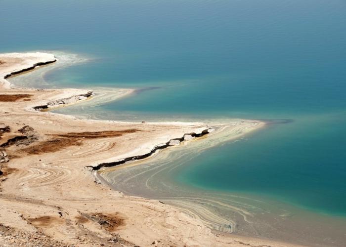 la mer morte- une de les plus beaux endroits du monde