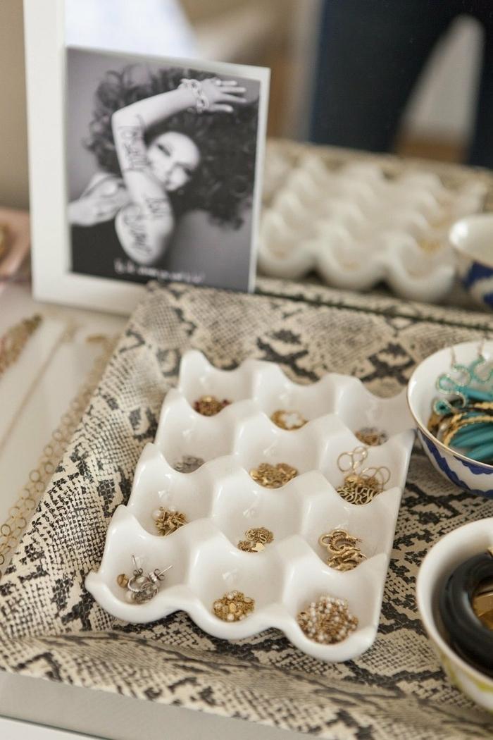 rangement bijoux idées