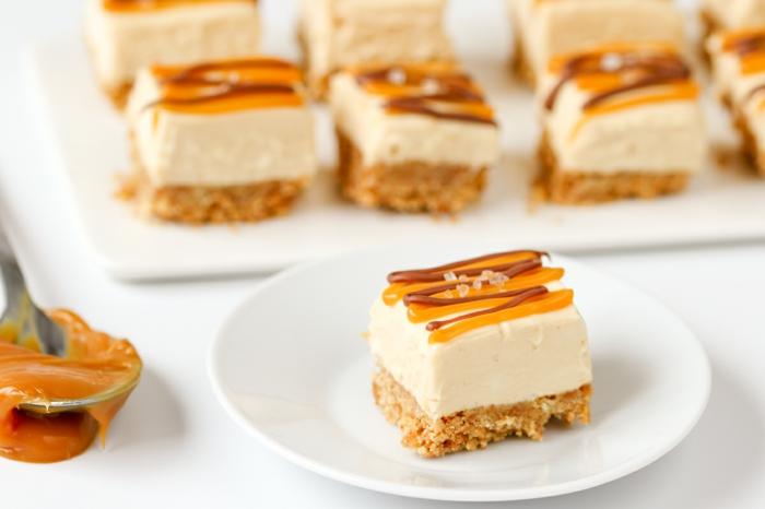 recette cheesecake au caramel au beurre salé