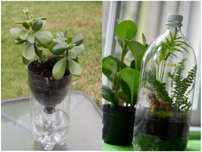 recycler la bouteille plastique