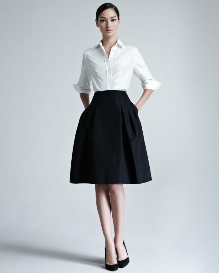 style officiel chemise blanche femme