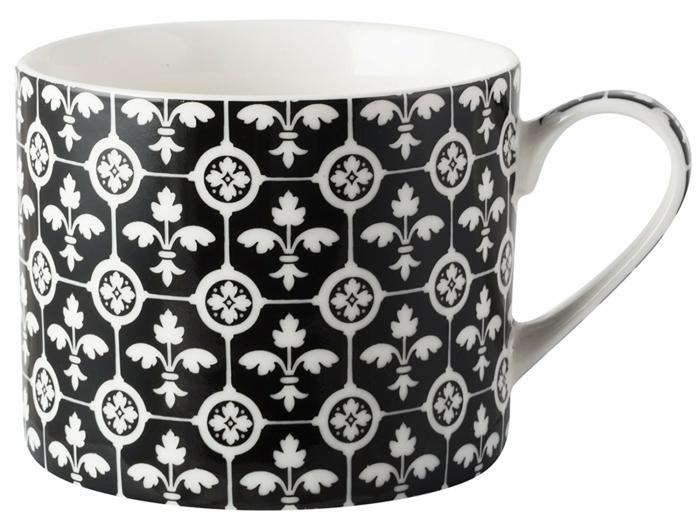 tasse porcelaine fleur de lys