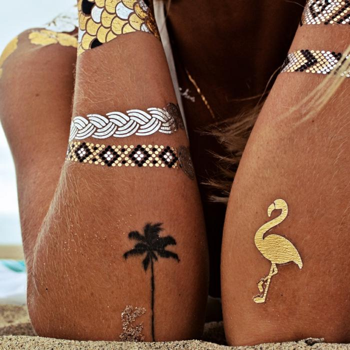 tatouage éphémère pour vos vacances