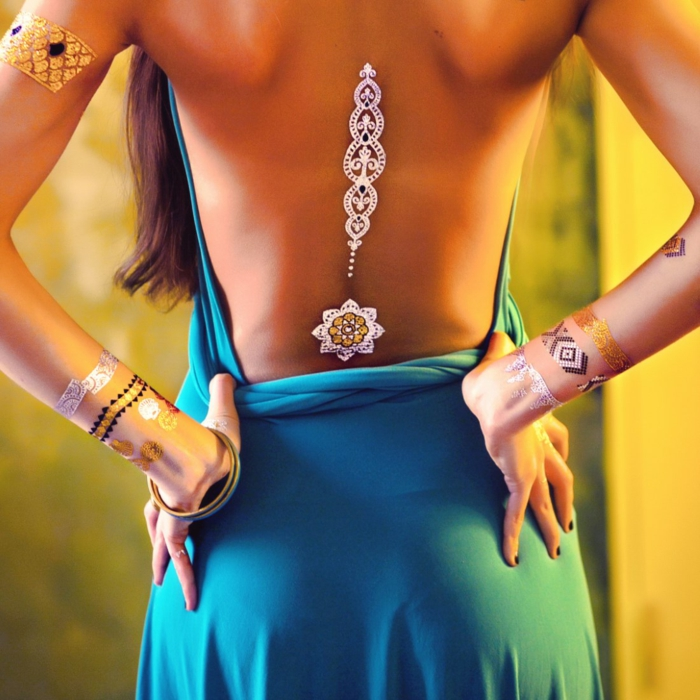 tattoos élégants -tatouage éphémère