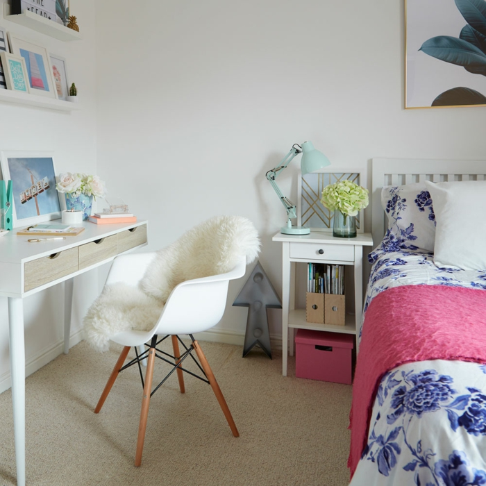 Id es d co pour une chambre ado fille design et moderne - Mature teenage girl bedroom ideas ...