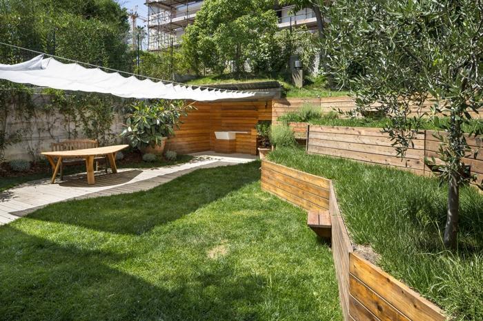 Am nagement jardin en pente id es pour vous faciliter la for Amenagement espace vert maison