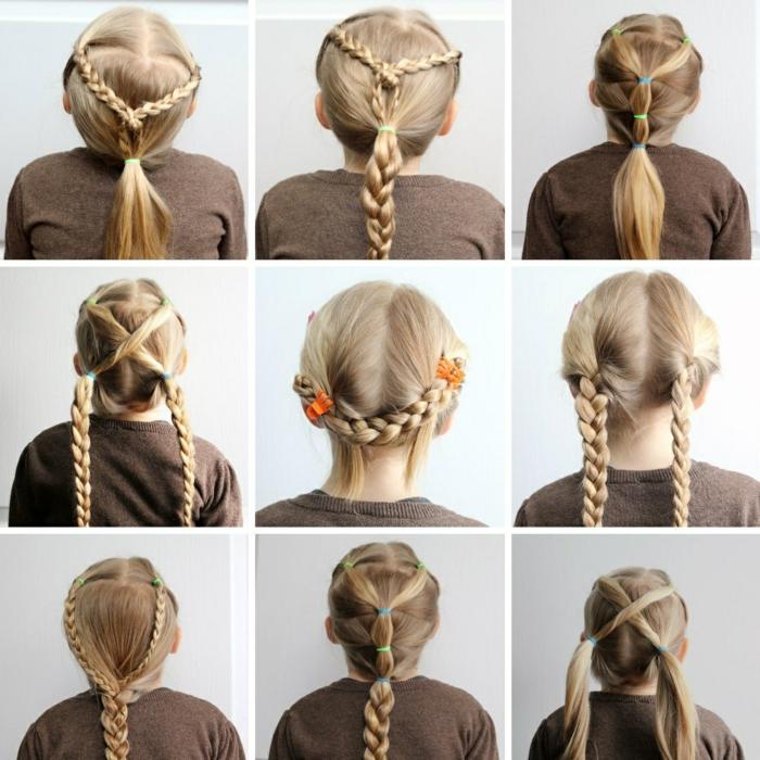 9 idées de coiffure petite fille
