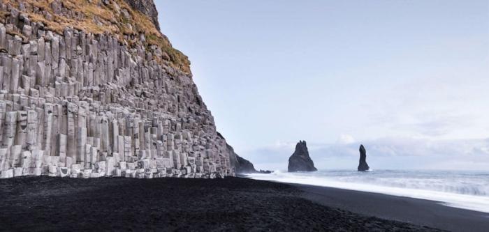 Reynisfjara voyager en islande