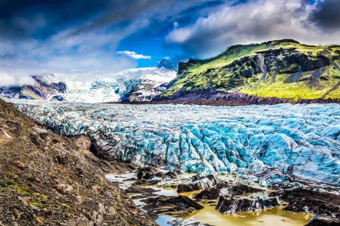 Vatnajökull glacier -voyager en islande