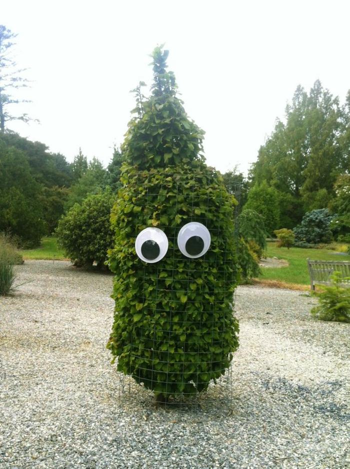 arbuste surveillant halloween