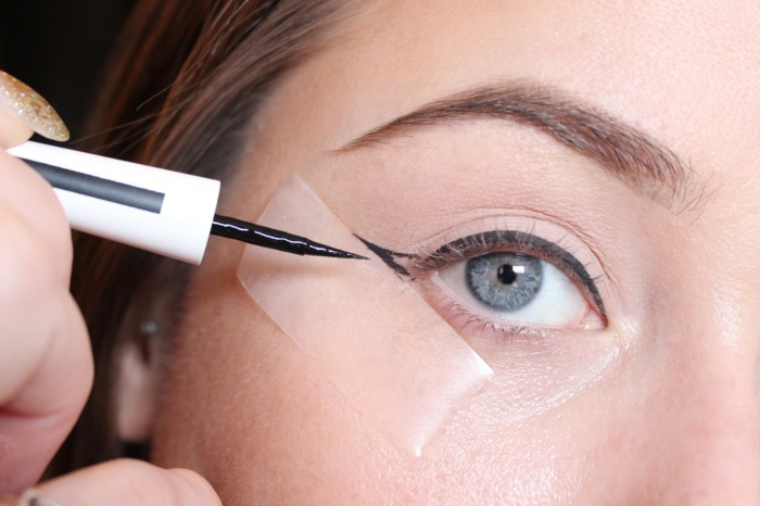 astuces comment faire un trait eye liner