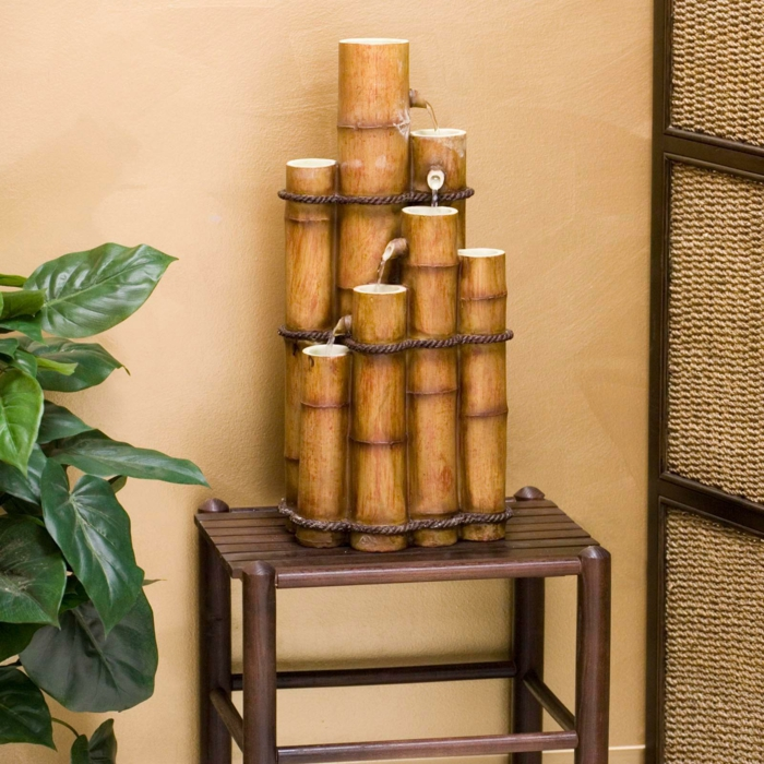 bamboo fountaine