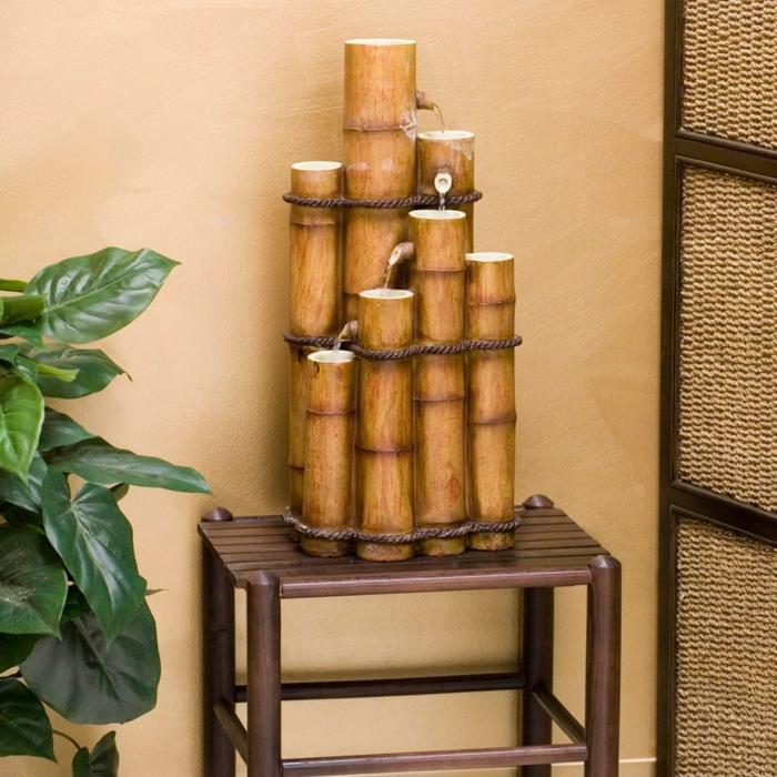bamboo fountaine