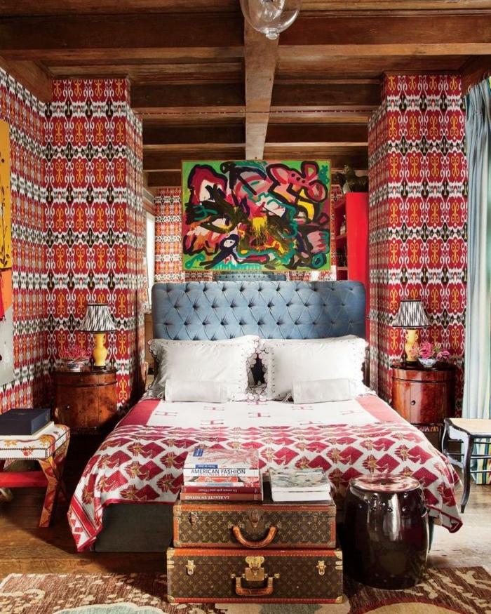 chambre style boho
