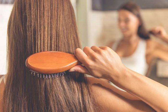 cheveux sains