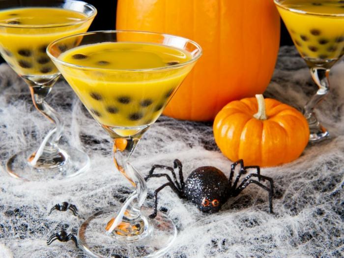 cocktail jack-o-lantern halloween