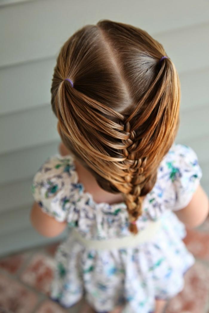 coiffure petite fille id es magnifiques pour votre princesse. Black Bedroom Furniture Sets. Home Design Ideas