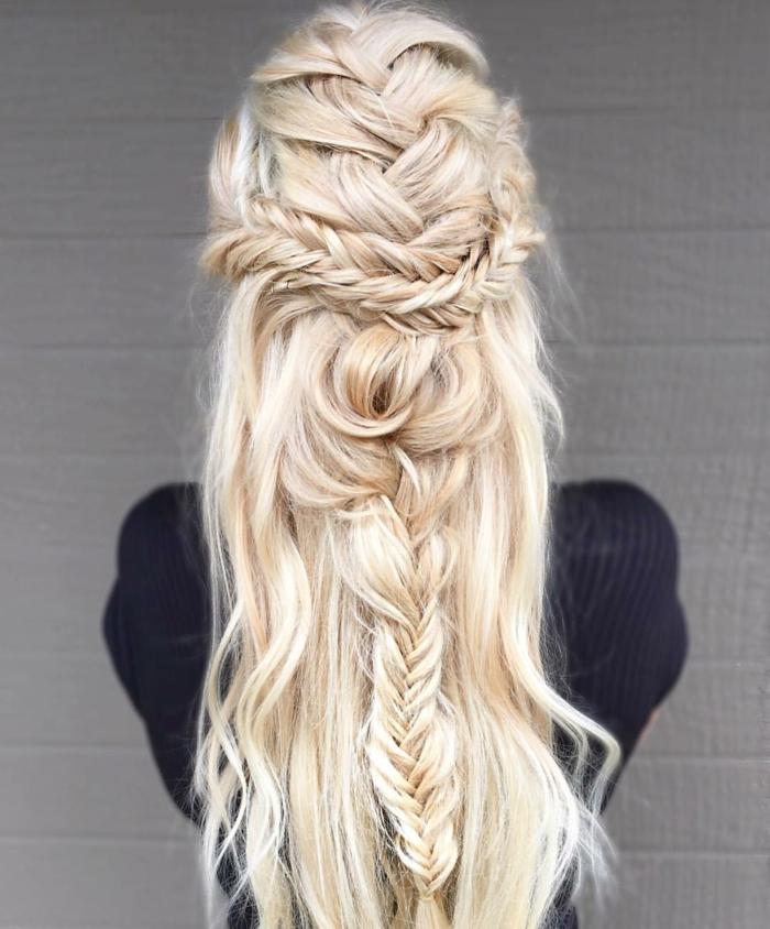 coiffure style boho