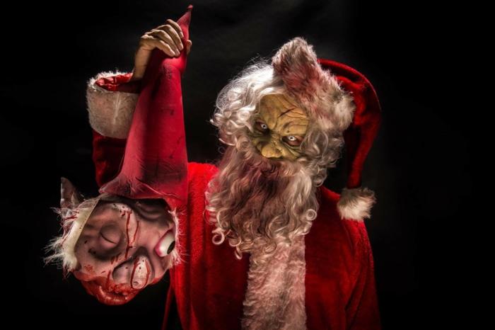 costume père noël méchant halloween