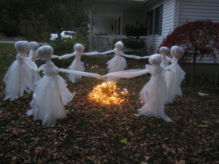 déco de jardin halloween