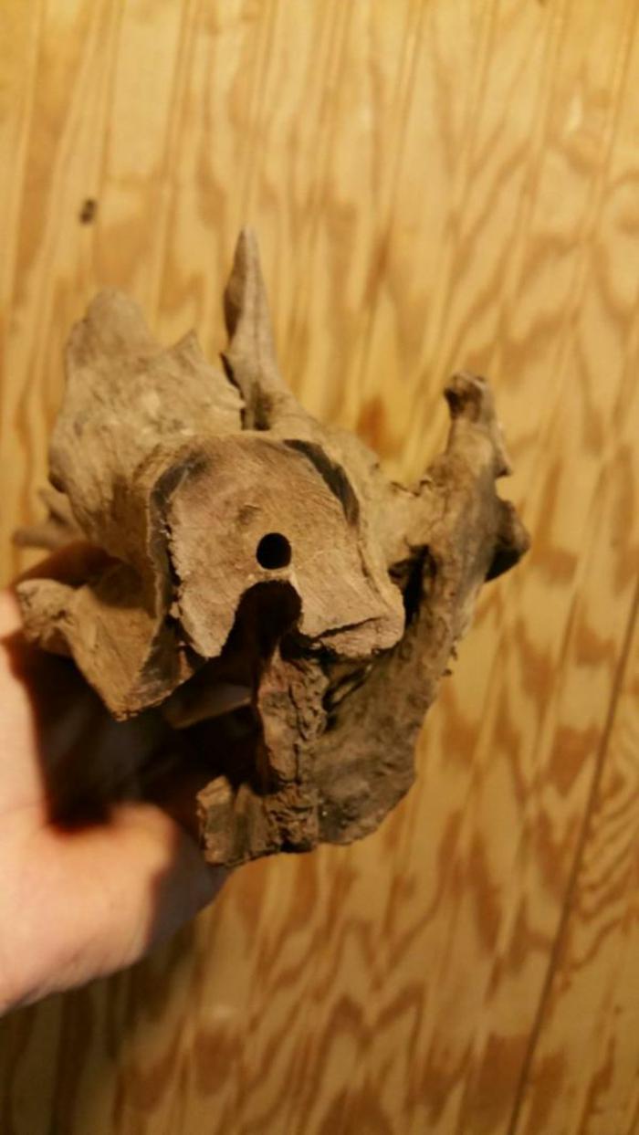 fabriquer une lampe de bois