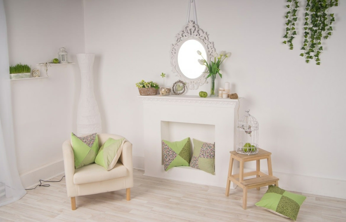 fausse chemin e d corative pour embellir la maison. Black Bedroom Furniture Sets. Home Design Ideas