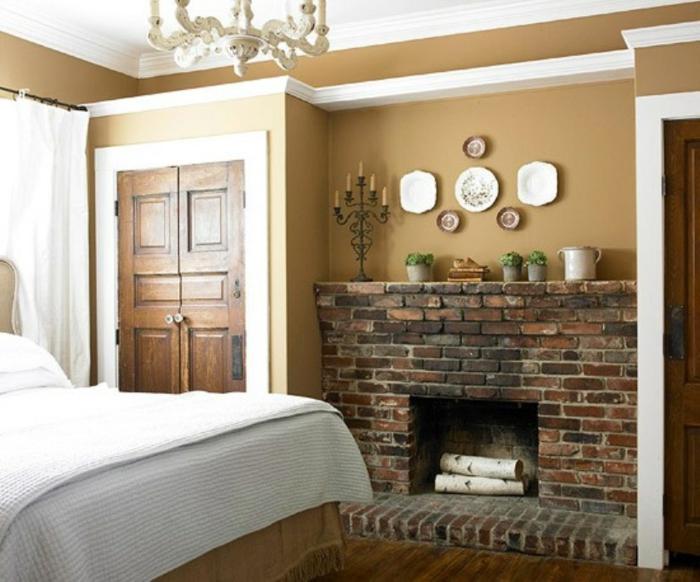 Fausse chemin e d corative pour embellir la maison for Fausse brique decorative