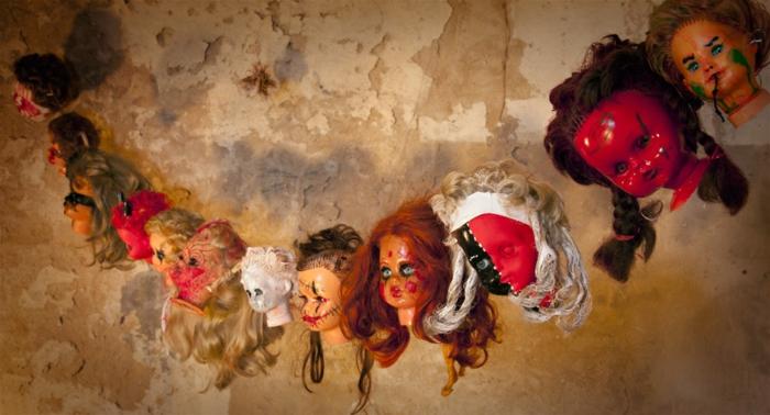 halloween décoration poupées