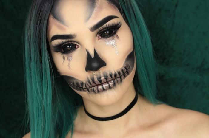 halloween déguisement look effrayant