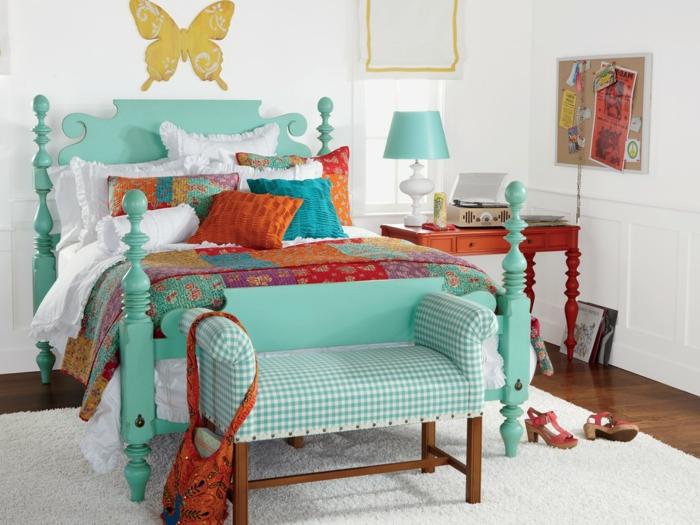 decoration chambre boheme chic. Black Bedroom Furniture Sets. Home Design Ideas