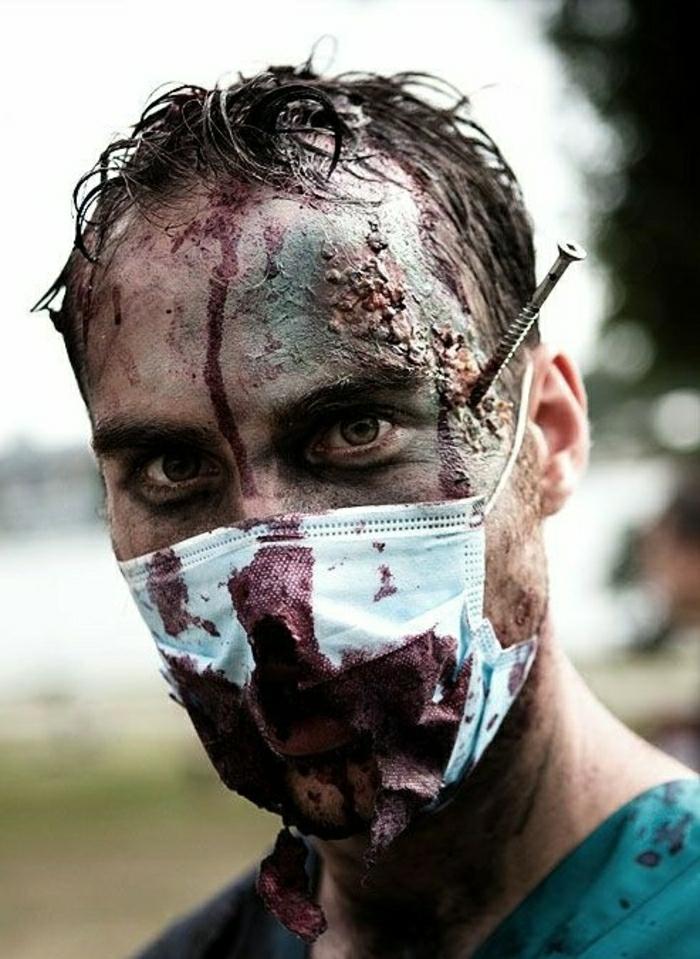 D guisement halloween qui fait vraiment peur 25 id es en photos - Comment faire du faux sang ...