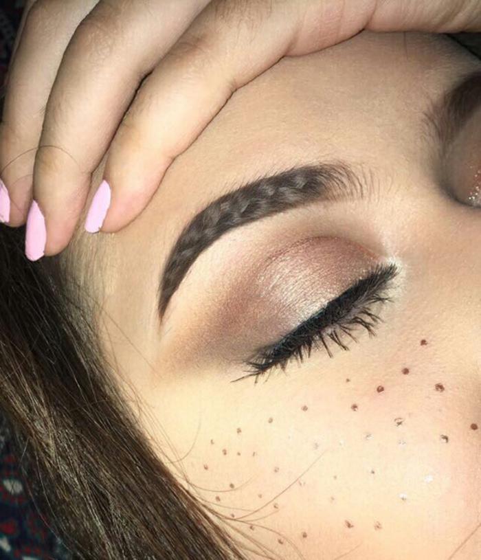 idée maquillage sourcils