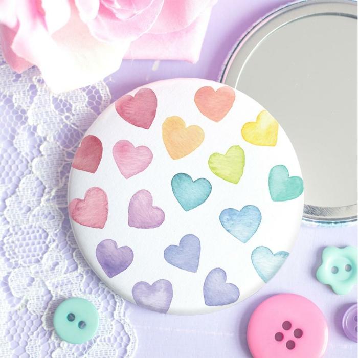 idées cadeaux noël miroir diy