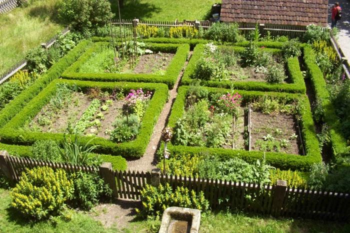 jardin époque médiévale