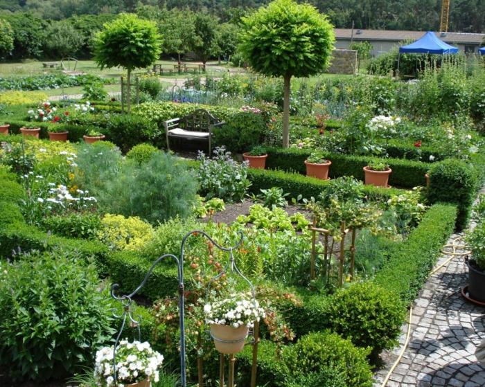 jardin dans l'esprit médiéval