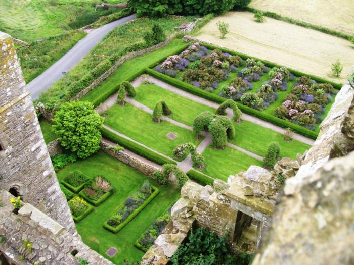 jardin médiéval inspirante