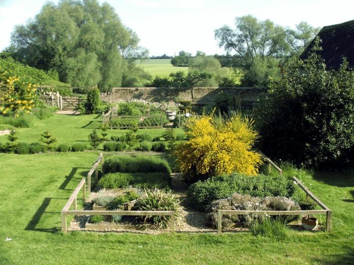jardin médiéval plantes médicinales