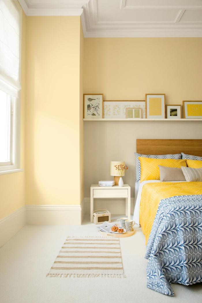 jaune couleur pour agrandir une pièce