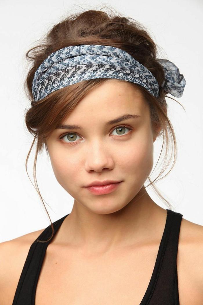 jolie coiffure petite fille headband