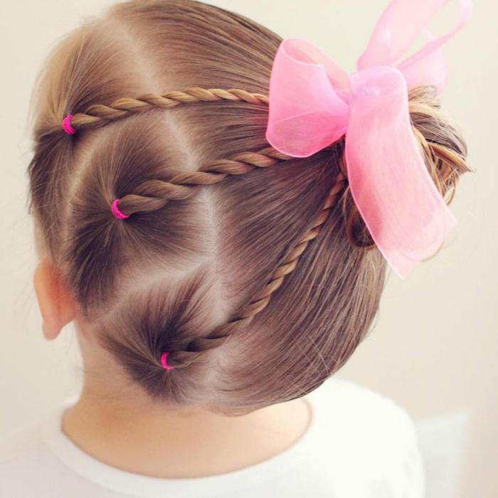 jolie coiffure petite fille