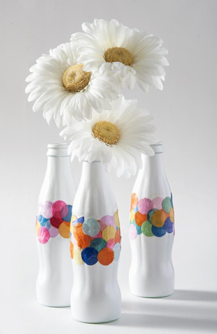 jolies bouteilles en blanc idées cadeaux noël